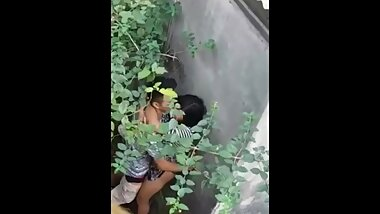 Couple caught having sex in Public