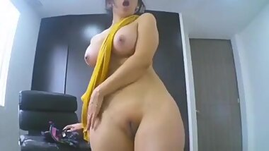 Girl Remove clothes and showing Her Big boobs and vibrator