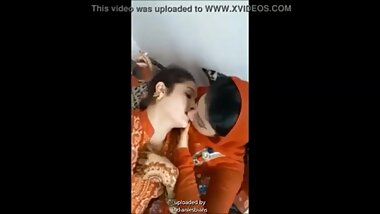 indian sweet muslim lesbian desi girls romantic kissing and boobs touching