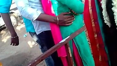Madurai hot tamil girl enjoying dicking and boobs touch